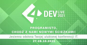 4Developers Live 2021